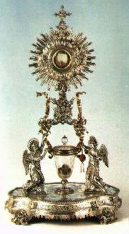Monstrance at <span class=