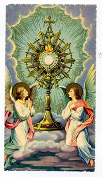 Eucharistic Adoration - Worship of the Eucharist Outside of Mass